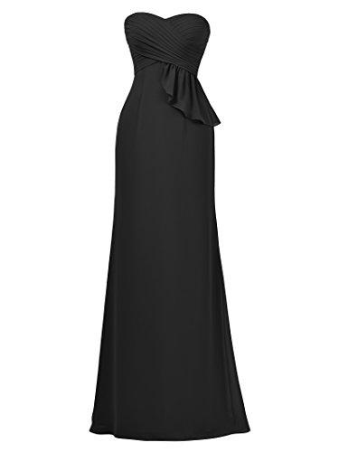 Sirène Alicepub Longue Robe De Demoiselle D'honneur Robe De Bal De Soirée Sans Bretelles Pour Les Femmes Noires