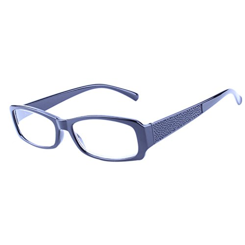 Deylaying Women Men Reading Glasses Resin Super-light Anti-fatigue Reading glasses - Fashion 5.00