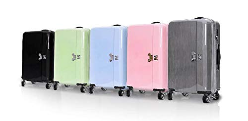 H-OUTDOOR 荷物用 スーツケース キャリーケース TSAロック SUITCASE 旅行 出張 Pastel 24 inch(海外直送品)  Titanium B07HLQCN55