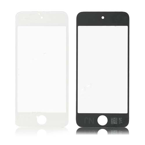 Front Screen Glass Lens Replacement for iPod Touch 5 - White ()