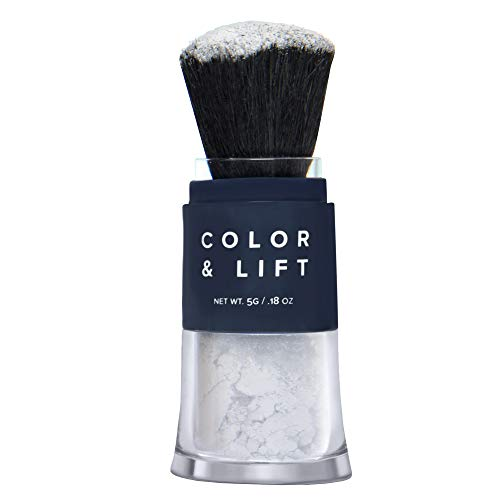 - Color & Lift with Thickening Powder - Available in 8 Hair Colors - Root Cover Up - Temporary Hair Coloring Brush that Refreshes Hair - Gray