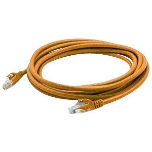 AddOn 1ft Orange Molded Snagless No Boot Cat6 Patch Cable ADD-ON-COMPUTER PERIPHERALS ADD-1FCAT6NB-ORG