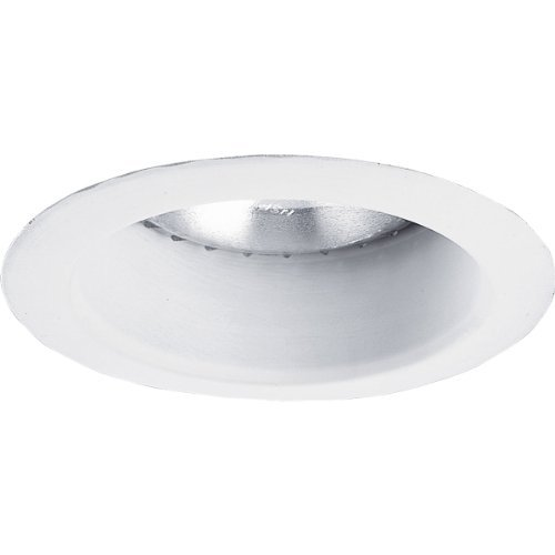 Progress Lighting P8368-28 Bright White 5-Inch Shallow Alzak Cone, Bright White by Progress Lighting