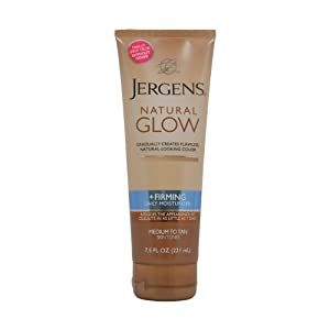 Jergens Natural Glow + Firming Daily Moisturizer Medium to Tan Skin Tones width=