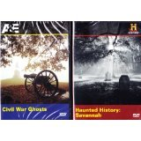 The History Channel : Haunted History of Savannah Georgia , Civil War Ghosts : Ghosts of the South 2 Pack DVD SET