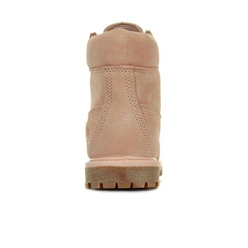 Timberland 6 in Premium Suede WP Cameo Rose CA1P7C, Boots