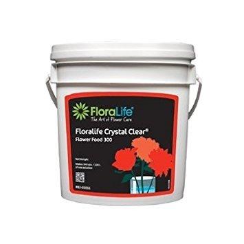 Floralife Crystal Clear® Flower Food 300 Powder, 10 Lb. by Floralife