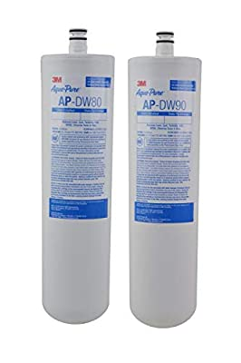 3M Aqua-Pure Under Sink Replacement Water Filter - Model AP-DW80/90