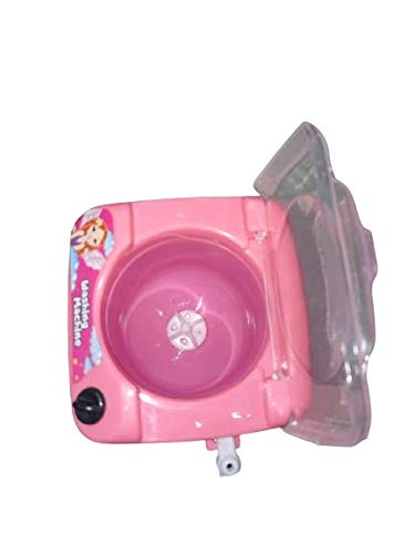 tiny souls miniature automatic top load washing machine | pack of 1- Multi color 31XhIOC tKL India 2021