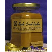 Maple Creek Candles MULLED APPLE CIDER ~ Fall Favorite ~ Soy Wax Blend 7oz candle