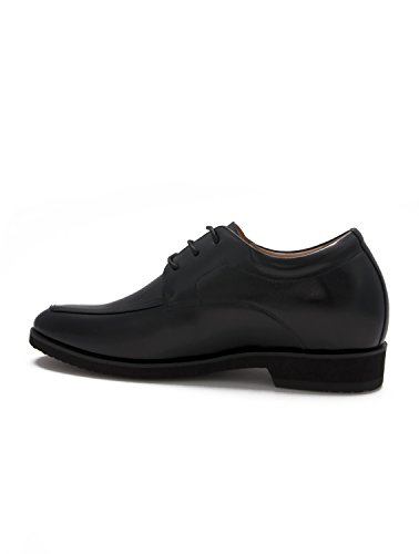tue Cm Enhanced Men's alta Leather Made qualità 5 Shoes Sport in 6 alle Zerimar Black Aggiungi di dimensioni Uf4ww