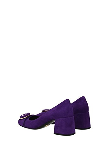 Prada Pumps Women - Suede (1i739hcamoscio) Eu Purple