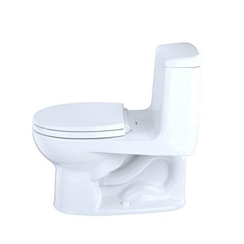 TOTO MS853113#01 Round One Piece Toilet, White