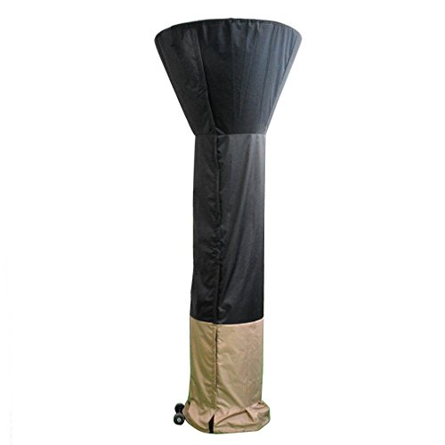 Attached Patio Cover (Stanbroil Standup Patio Heater Cover, Black/Camel, 34