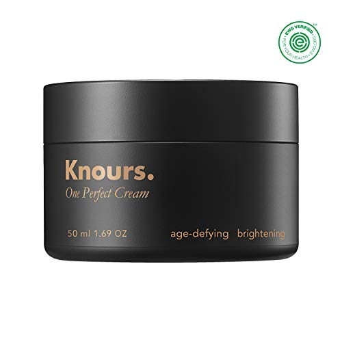Knours. – One Perfect Cream Hormonal Skincare For Women Nourishing, Anti-Aging, Brightening Facial Moisturizer 50ml 1.69 oz. – EWG Verified Clean Beauty