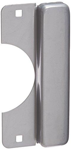 Don-Jo LELP 208 12 Gauge Steel Latch Protector, Silver Coated Finish, 3-1/2
