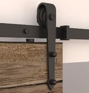 DIYHD - Cerradura para puerta corrediza de madera, para establo, 1 ...
