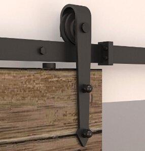 DIYHD - Cerradura para puerta corrediza de madera, para establo, 1,95 m