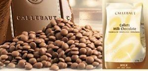 Callebaut 823 33.6% Milk Chocolate Callets 1 lb ()