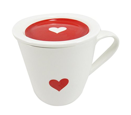Heart Porcelain Coffee White Piece product image