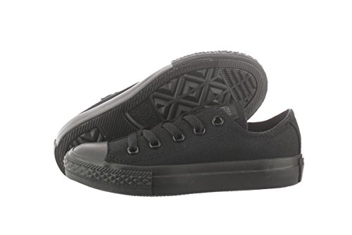 Free Converse Chuck Taylor All Star Classic Black Monochrome 314786F Toddler/Youth 1