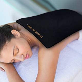 (Back Pain Cold Ice Pack Therapy for Sciatic Nerve Pain Relief Degenerative Disc Disease Coccyx Tailbone Pain Reusable Gel Flexible Medical Grade Large Oversized)