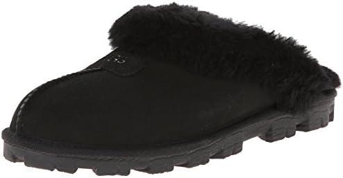 da8cfe34e07 UGG Women's Coquette Slipper, Black, 7 B US: Amazon.com: DUAE TRADE