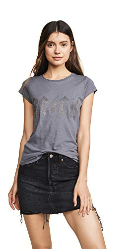 Zadig & Voltaire Women's Studded Short Sleeve Tee, for sale  Delivered anywhere in USA