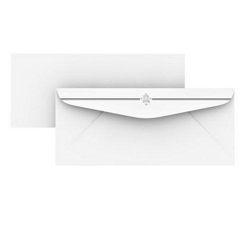 Gartner Studios(R) Stationery Envelopes, #10 (4 1/8In. X 9 1/2In.), Silver, Pack Of 50 ()