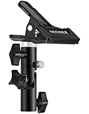 """Neewer® Photo Studio Heavy Duty Metal Clamp Holder with 5/8"""" Light Stand Attachment for Reflector"""