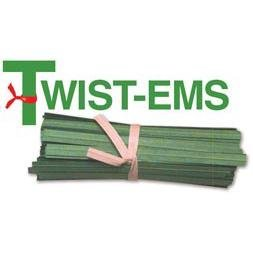Twist-ems Plant Tie Green Paper 100 Each 6-inch Length (6) by Twist-Ems® (Image #2)
