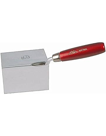 inoxidable, 80 x 60 x 60 mm exterior Stubai 431611 Paleta para estucador color rojo met/álico 80x60x60mm