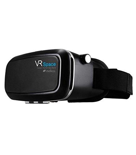 Melkco 3D VR Viewer Box Headset – Black