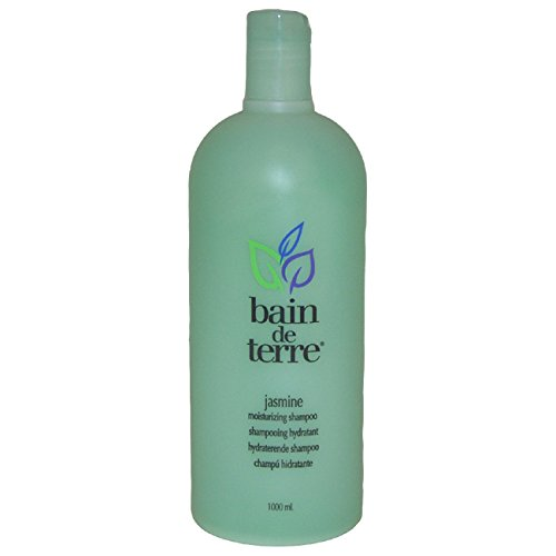 Bain de Terre Moisturizing Shampoo, Jasmine, 33.8 (Bain De Terre Jasmine Shampoo)