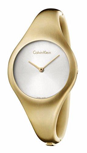 Women's Calvin Klein Bare Gold Steel Watch K7G1M516 by Calvin Klein