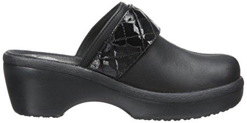 Crocs Womens Cordonnier Couette Sangle Sabot Noir / Noir