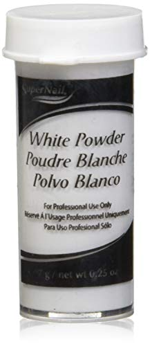 Super Powder Nail White (super nail White Powder, 0.25 Ounce)
