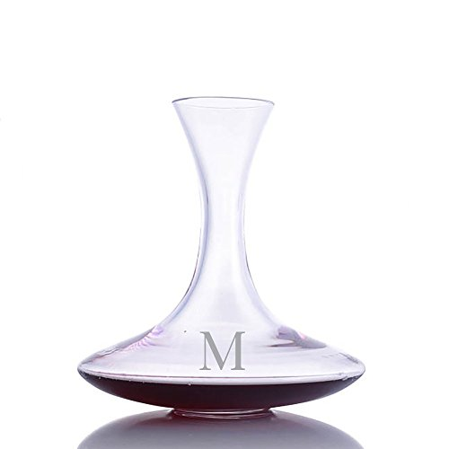 (Personalized Riedel Ultra Crystal Wine Decanter Engraved & Monogrammed - Great Gift for Valentine's Day, Weddings and Groomsmen)