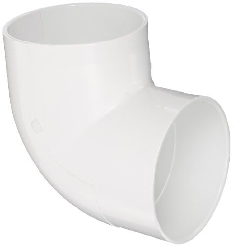 Spears P331 Series PVC DWV Pipe Fitting, Vent Elbow, 8