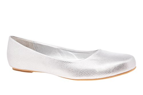 Large White Andres 8 Silver UK Classic Machado 42 AM539BRIDAL Engraved 5 Ballerinas to EU 45 10 to Sizes Engraved qwYtf