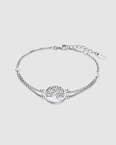Bracelet Lotus Argent Arbre de la vie