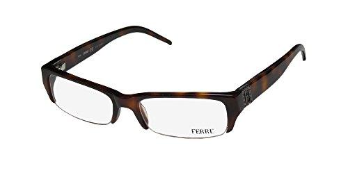 Gianfranco Ferre 29702 Womens/Ladies Designer Half-rim Strass Eyeglasses/Eyeglass Frame (51-17-135, (Strass Glass)