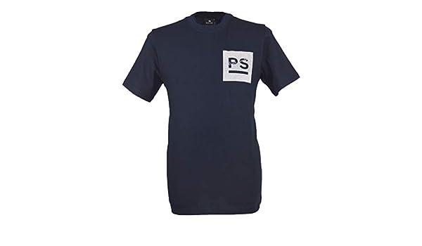 Paul Smith Playera con Logo PS y Cuello Redondo para Hombre, Color ...