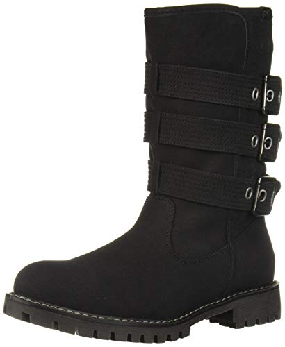 Roxy Women's Bennett Fashion Boot, Black, 8 M US
