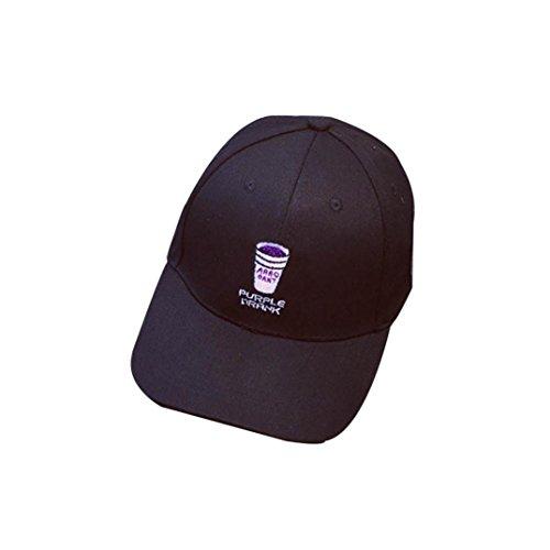 2018 Gorra De BéIsbol ZARLLE Taza Bordado Gorra De BéIsbol Hip Hop Plana Snapback Hat Hombres Mujer BéIsbol Gorra Casual Al Aire Libre Deportes Sombreros Nueva Gorra De BéIsbo negro