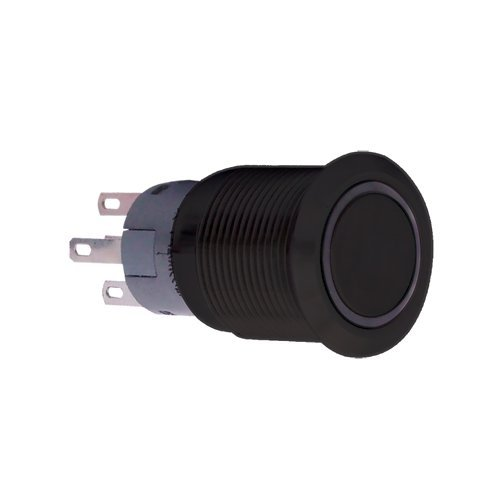 PlasmaGlow 11120 Black LED Activator Switch with Blue Light (On/Off Version)