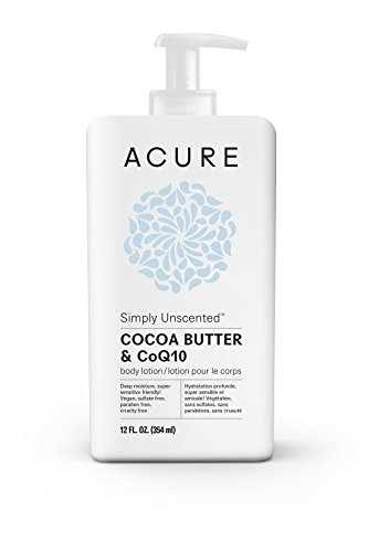 Acure Simply Unscented Body Lotion, 12 Fluid Ounces