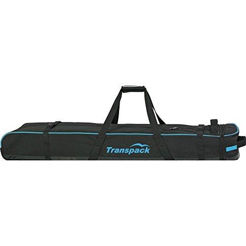 Classic Series Ski Vault Double Pro Bag Color: Black w/ Blue ()