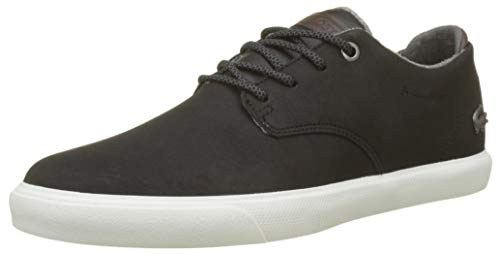 Lacoste Esparre 318 1 Cam, Sneaker Uomo Nero (Blk/Brw 094)