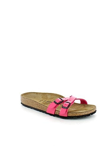 Sandalias para mujeres fuxia Birkenstock con sottopiede ergonómico